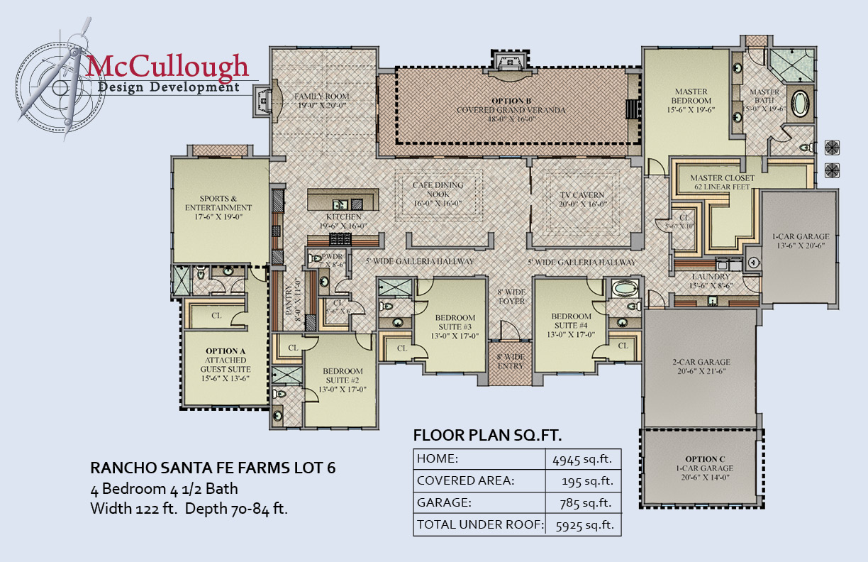 Rancho Santa Fe Farms Mccullough Design Development